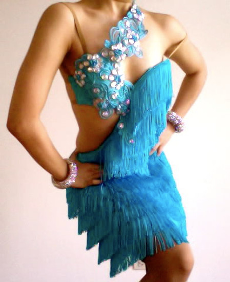 Salsa Fringe Dress