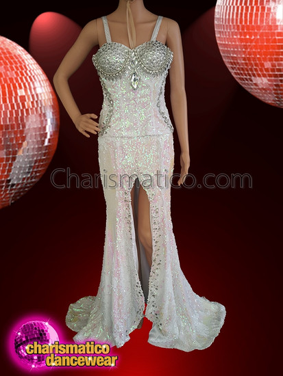 CHARISMATICO  Glamour Up The Act With The Gorgeous Shiny Gown