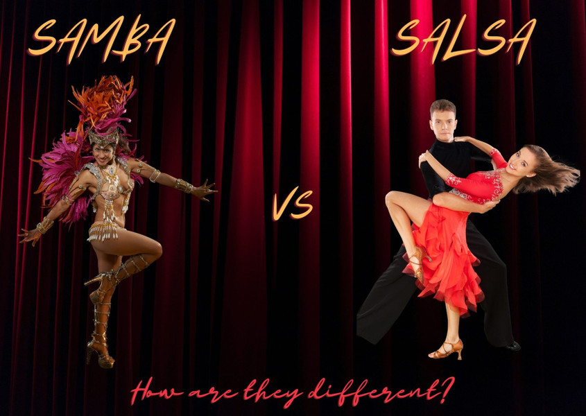 The Difference Between Samba and Salsa