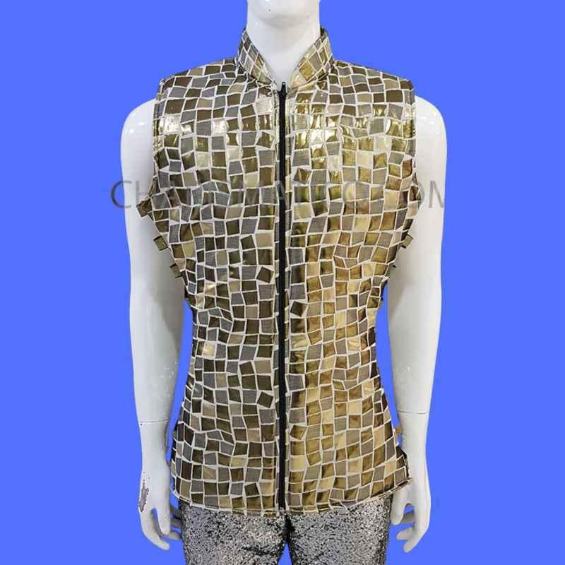Vinyl Leather Vest