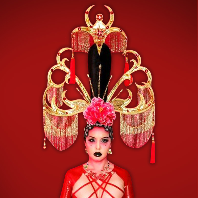 Cabaret Headdress