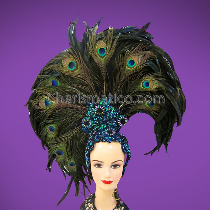 Peacock Headdress