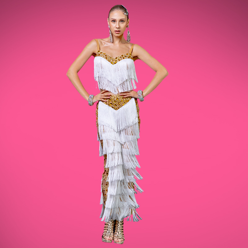 Latin Fringe Pants & Top