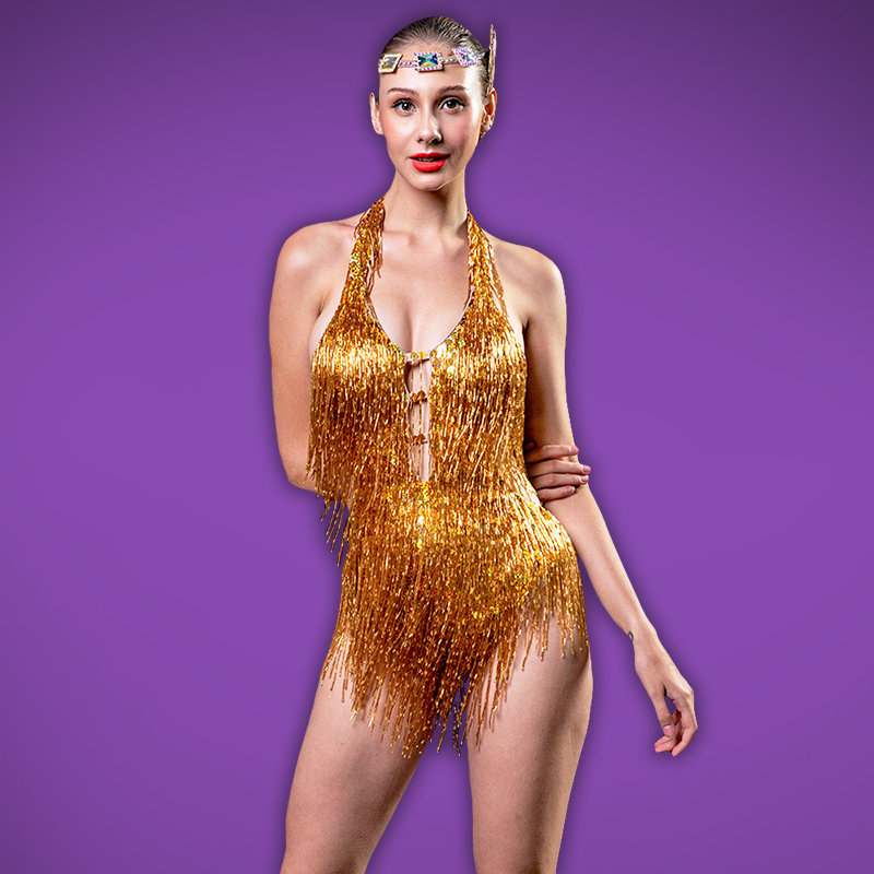 Beaded Leotard