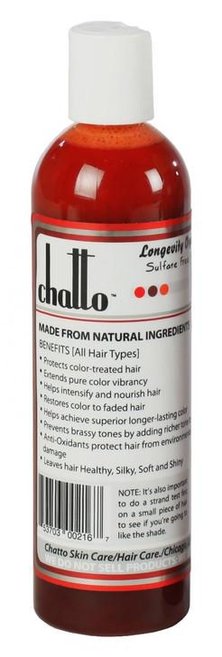 Longevity Red Deep Raspberry Enhancement Organic Color Shampoo