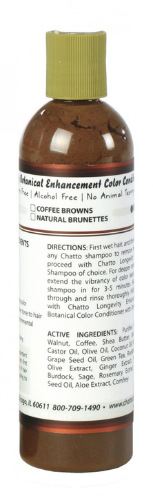 Longevity Botanical Coffee Brown Enhancement Color Conditioner