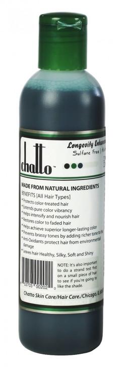 Longevity Black Royal Enhancement Organic Color Shampoo