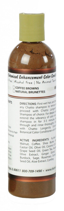 Longevity Botanical Natural Brunettes Enhancement Color Conditioner