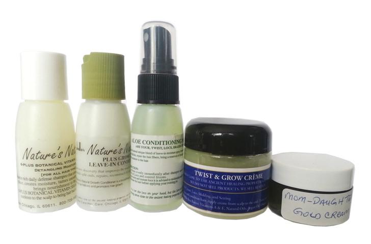 Natural & Organic Hair Care Kit (Sample Size)