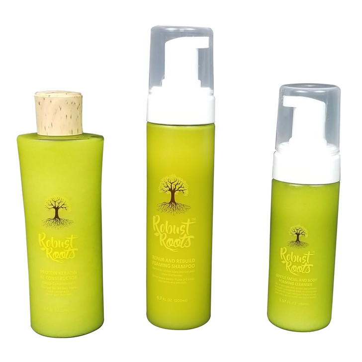 CHATTO KIT SET 2 (SHAMPOO, CONDITIONER AND LEAVE-IN –CONDITIONER)