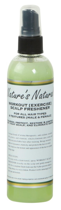 Nature's Natural Workout [Exercise] Scalp Freshener