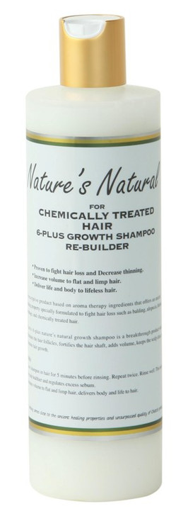 Nature's Natural 6-Plus Hair Growth Shampoo Rebuilder for Chemically Treated Hair