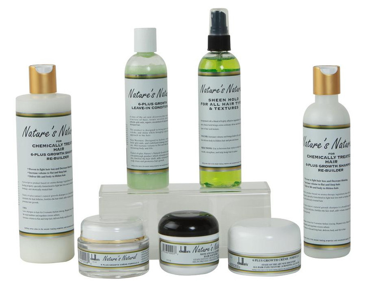 Nature's Natural Chemically Treated Hair Kit