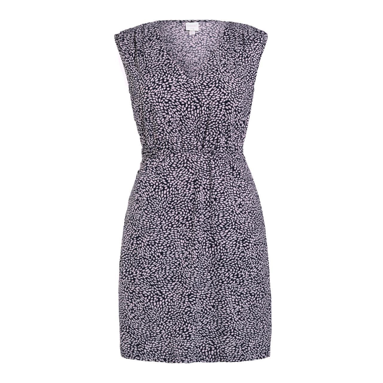 ced540ef1553f Boob Design Misty Dress - Midnight Blue Print - Stockholm Objects