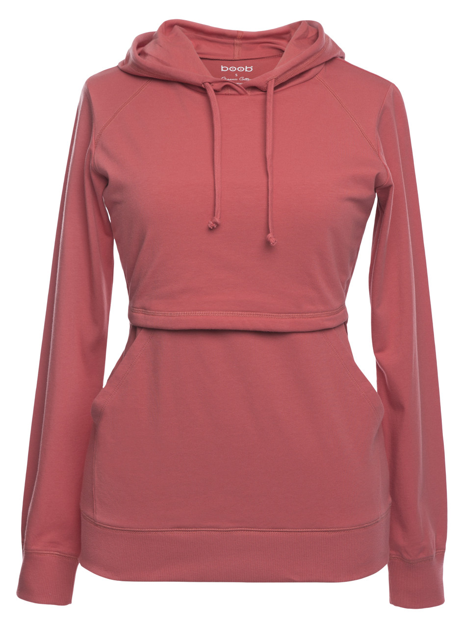 66a856bcd01 Boob B.Warmer Hoodie - faded rose - Stockholm Objects
