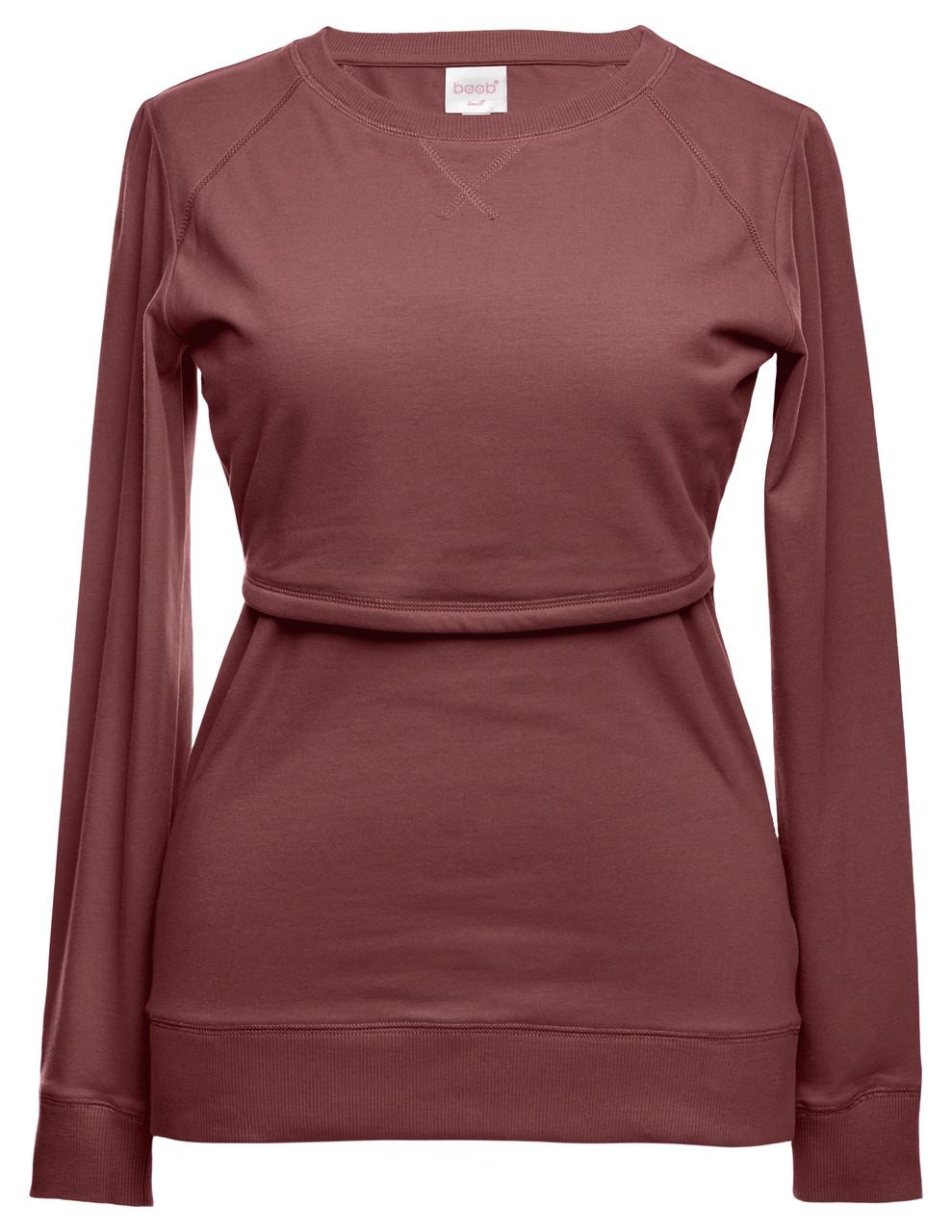 82be3366bfce4 Boob Design B.Warmer Maternity/Nursing Sweater - midnight - Stockholm  Objects