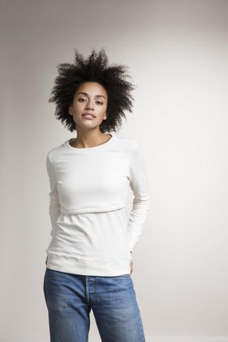 Boob Design B Warmer Sweatshirt - Tofu