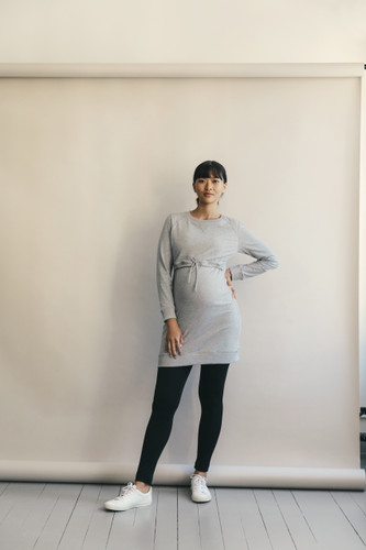 Boob Design B Warmer Dress - Grey Melange
