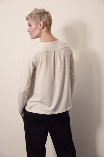 Boob Design Swagger L/S Top - Lime Stone