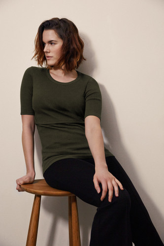 Boob Design Signe Top - Moss Green