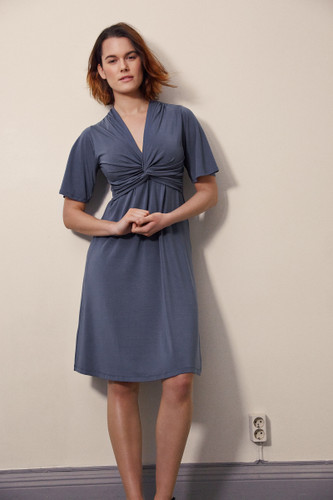 Boob Design La La Dress - Sea Blue