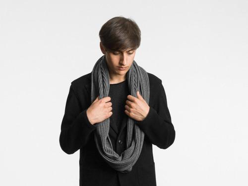 Design House Pleece Snood - Dark Grey
