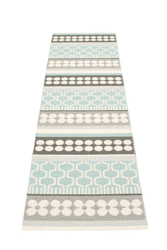 Pappelina Asta Rug Pale Turquoise