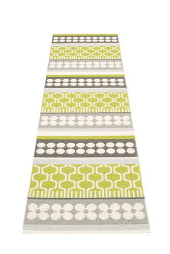 Pappelina Asta Rug Lime