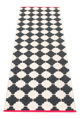 MARRE Black/Vanilla with Coral Red Edging