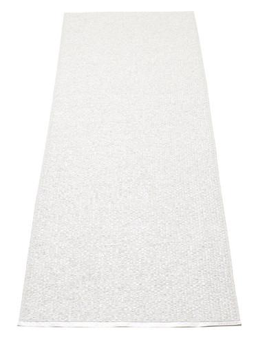 Pappelina Svea Rug White Metallic/White