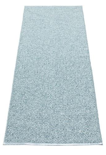 Pappelina Svea Rug Azurblue Metallic/Pale Turquoise