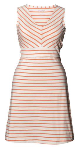 Boob Design Simone Maternity/Nursing Dress Diagona - White/Melon