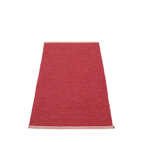 Pappelina Mono Rug Blush/Dark Red