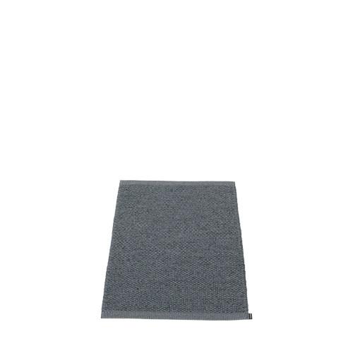 Pappelina Svea Rug Granit/Black Metallic (hemmed egdes)