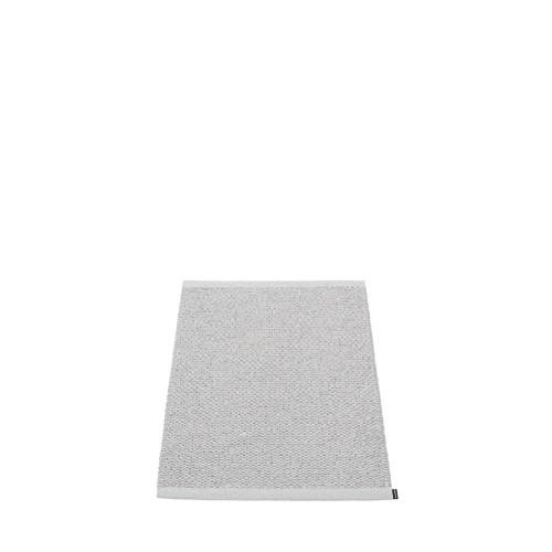 Pappelina Svea Rug Grey Metallic/ Light Grey (hemmed egdes)
