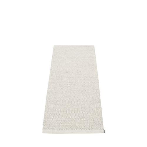 Pappelina Svea Rug Stone Metallic/ Fossil Grey (hemmed egdes)