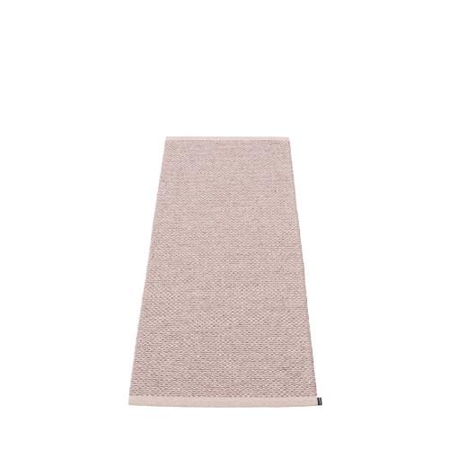 Pappelina Svea Rug Lilac Metallic/Pale Rose (hemmed egde)