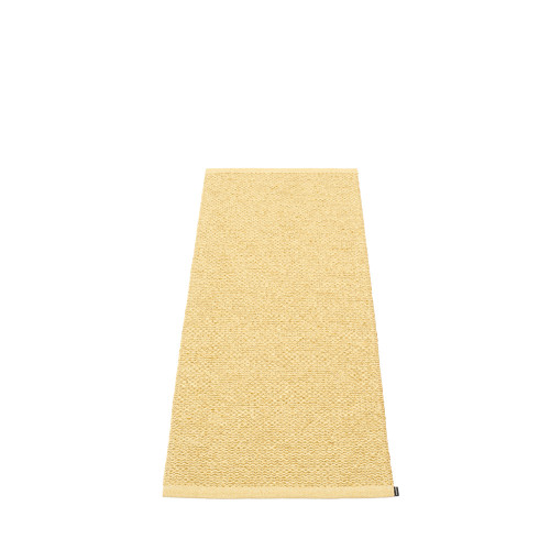 Pappelina Svea Rug Gold Metallic/Pale Yellow (hemmed egde)