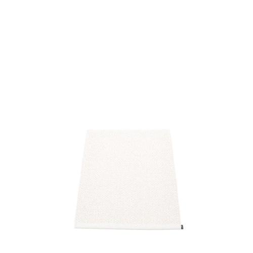Pappelina Svea Rug White Metallic/White (hemmed egde)