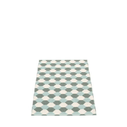 Pappelina Dana Rug Army/Pale Turquoise