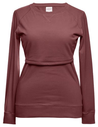 Boob Design B.Warmer Maternity/Nursing Sweater - midnight