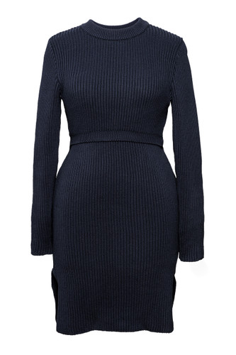 Boob Design Knitted Tunic Edie - Midnight Blue