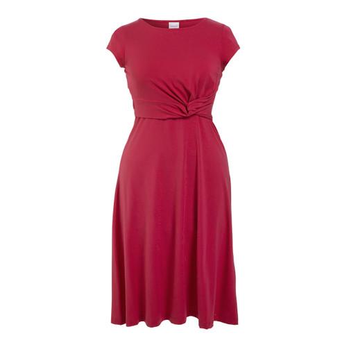 Boob Design Twist Dress w/ Cap - Sweet Fuchsia