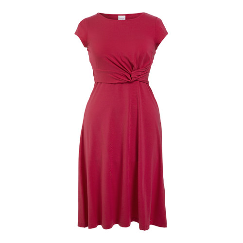 Boob Design Twist Dress w/ Cap - Sweet Fuchsia