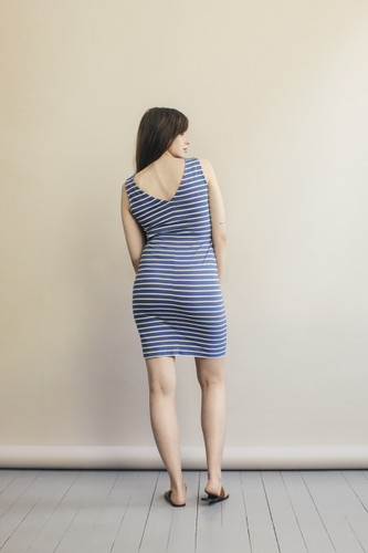 fe212733e3911 Boob Design Simone S/L Dress - Country Blue/Tofu - Stockholm Objects