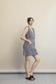 Boob Design Misty Dress - Midnight Blue Print