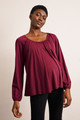 Boob Design Liv Blouse - Beet Red