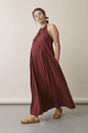 Boob Design Air Halterneck Dress - Port Wine