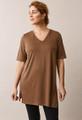 Boob Design The Shirt Tunic - Hazelnut