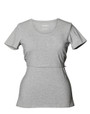 Classic Top Short Sleeves (color grey melange)